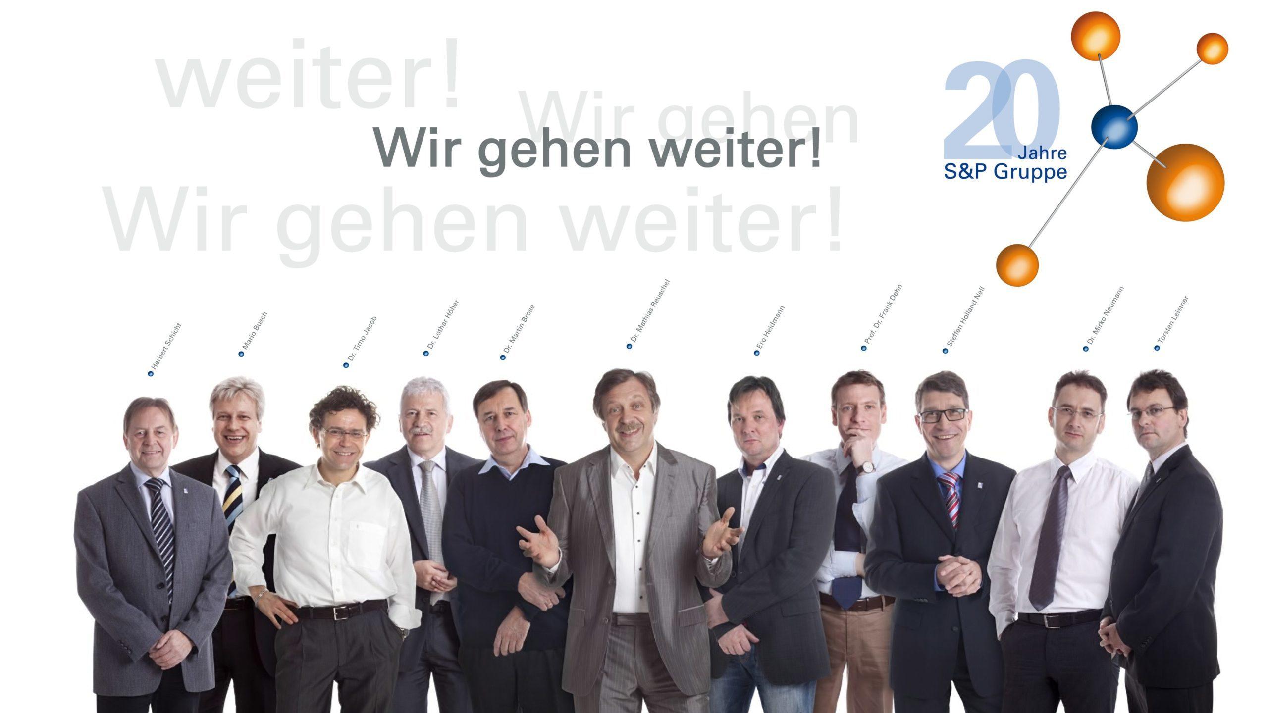 20 Jahre S&P Gruppe